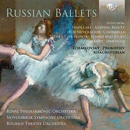 Peter Iljitsch Tschaikowsky (1840-1893) & Serge Prokofieff (1891-1953) - Russian Ballets (3 CDs)