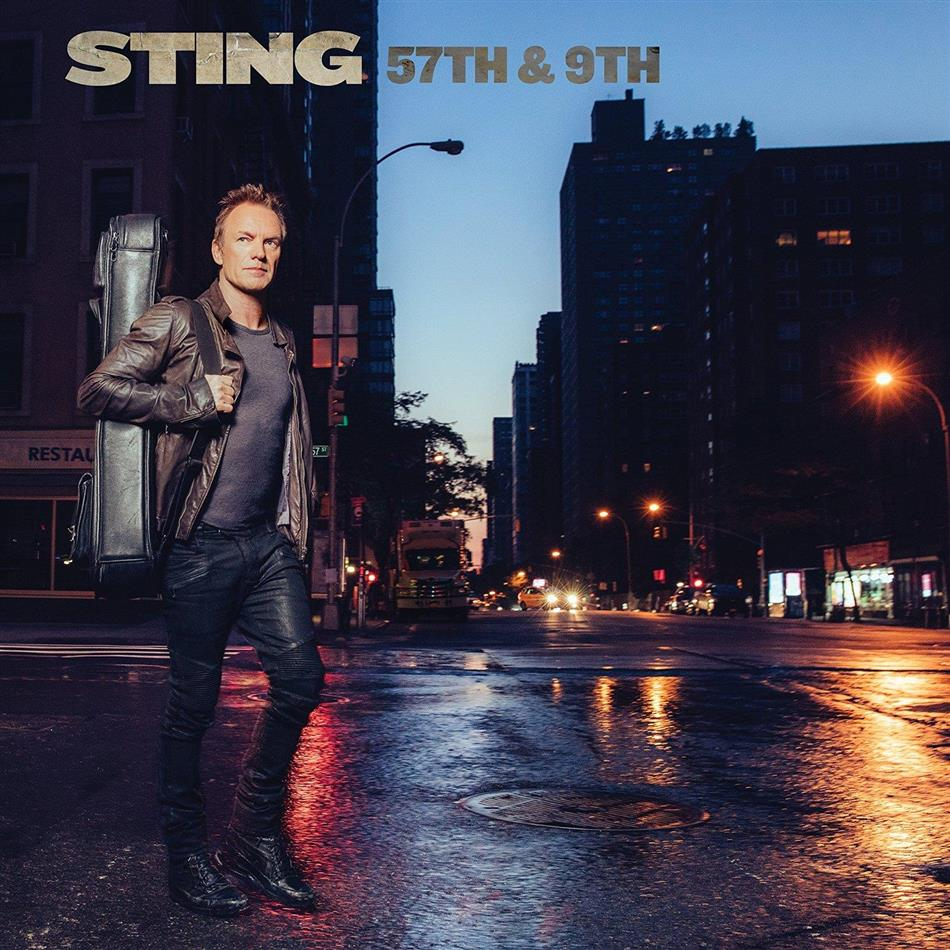 Sting - 57th & 9th - Blue Vinyl (Colored, LP)