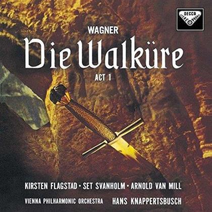 Hans Knappertsbusch, Kirsten Flagstad, Set Svanholm, Arnold van Mill, Richard Wagner (1813-1883), … - Wagner: Die Walküre, 1. Akt (Japan Edition, SACD)