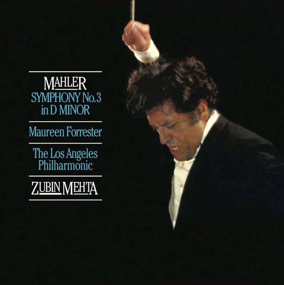 Zubin Mehta, Los Angeles Philharmonic, Maureen Forrester & Gustav Mahler (1860-1911) - Symphony No. 3 In D Mino (Hybrid SACD)