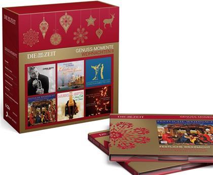 Die Zeit: Genuss-Momente Weihnachten - Vol. 2 (6 CDs)