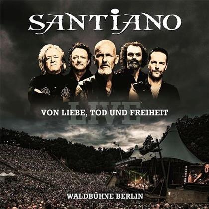 Santiano - Von Liebe, Tod Und Freiheit - Live (Limited Edition, 2 CDs + DVD)
