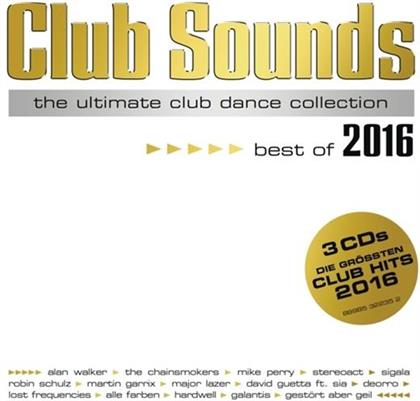Club Sounds - Various - Best Of 2016 (3 CDs)