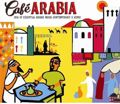 Cafe Arabia - Various - My Kind Of Music (2 CDs)