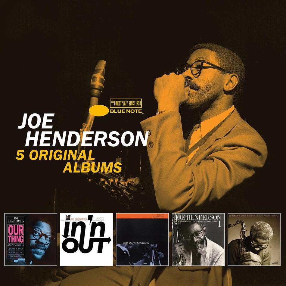 Joe Henderson - 5 Original Albums - Blue Note (Limited Edition, 5 CDs)