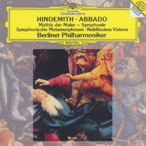 Claudio Abbado, Paul Hindemith (1895-1963) & Berliner Philharmoniker - Mathis der Mahler - Symphonie, Symphonische Metamorphosen, Nobilissima Visione