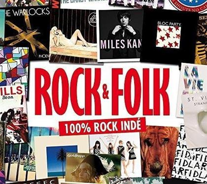 Rock & Folk - 100% Rock Inde (5 CDs)