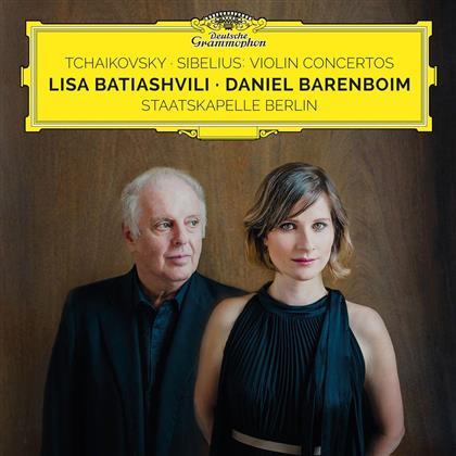 Peter Iljitsch Tschaikowsky (1840-1893), Jean Sibelius (1865-1957), Daniel Barenboim, Lisa Batiashvili & Staatskapelle Berlin - Violin Concertos