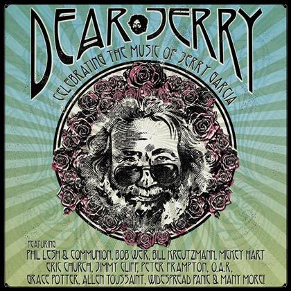 Tribute To Garcia Jerry - Dear Jerry: Celebrating The Music Of Jerry Garcia (2 CDs + Blu-ray)
