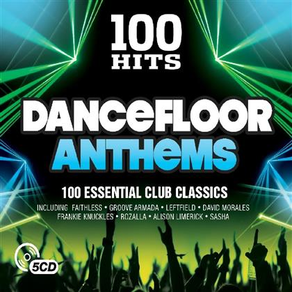 100 Hits - Dancefloor Anthems - New Slim Pack (5 CDs)