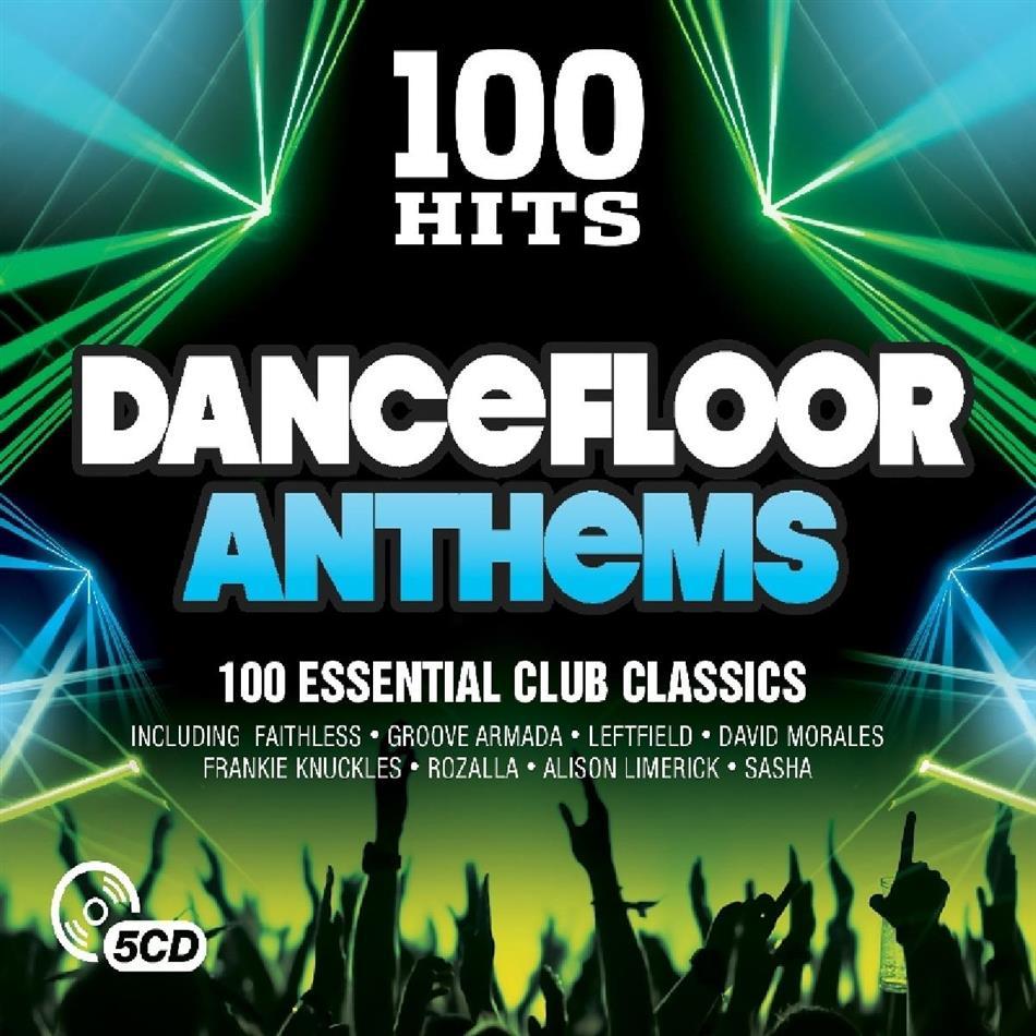 100 Hits - Dancefloor Anthems - New Slim Pack (5 CDs)