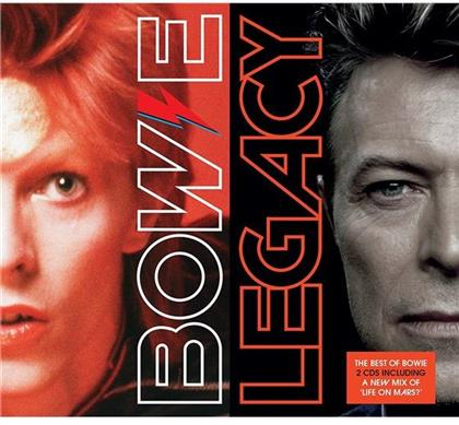 David Bowie - Legacy -The Very Best Of David Bowie (Deluxe Digipack Edition, 2 CDs)