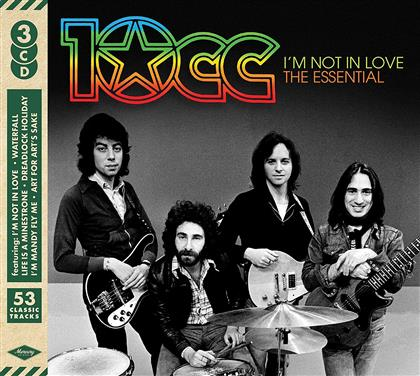 10CC - I'm Not In Love: Essential 10cc (3 CDs)