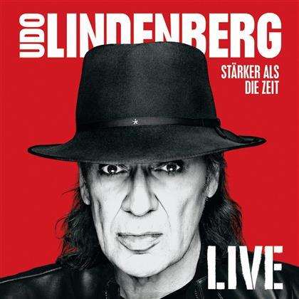 Udo Lindenberg - Stärker Als Die Zeit - Live - Super Deluxe Box + Postkarten (4 CDs + 2 Blu-rays + DVD)