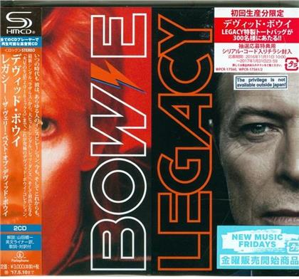 David Bowie - Legacy -The Very Best Of David Bowie (Japan Edition, 2 CDs)