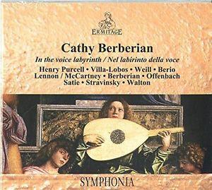 Cathy Berberian, Sir William Walton (1902-1983), Henry Purcell (1659-1695), Heitor Villa-Lobos (1887-1959), Kurt Weill (1900-1950), … - In The Voice Labyrinth / Nel labirinto della voce