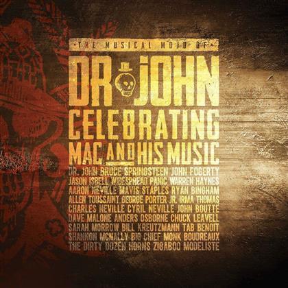 The Musical Mojo Of Dr.John - Various (2 CDs + DVD)