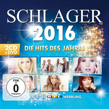 Schlager 2016 - Die Hits Des Jahres (2 CDs + DVD)