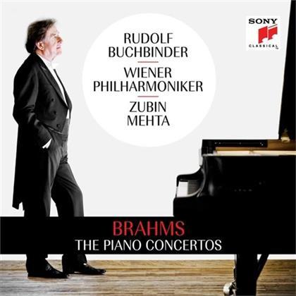 Rudolf Buchbinder & Johannes Brahms (1833-1897) - The Piano Concertos (2 CDs)