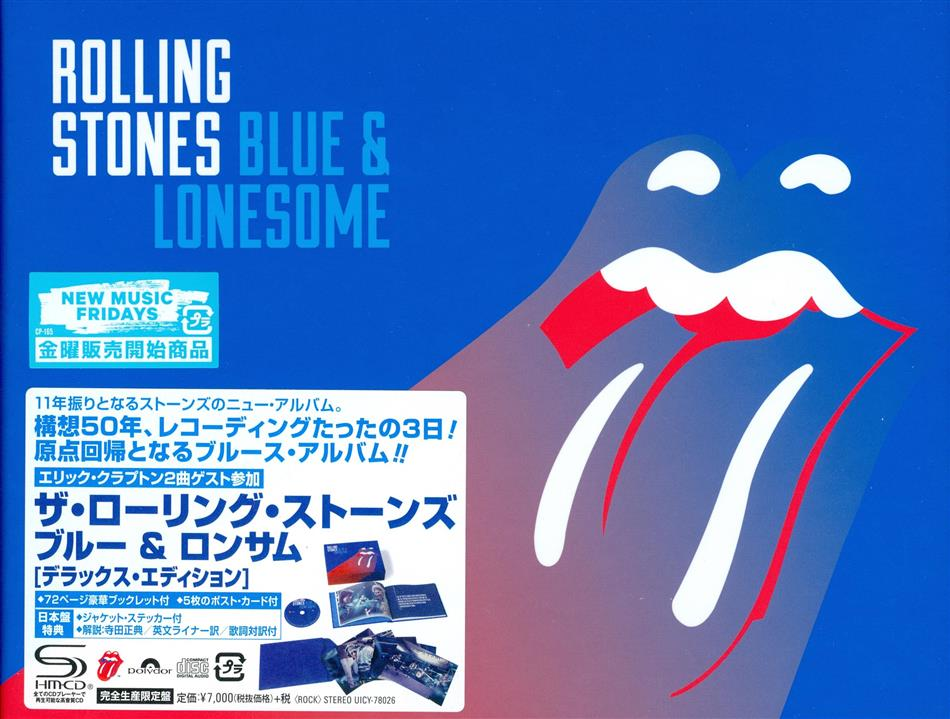 The Rolling Stones - Blue & Lonesome - + Postcards (Japan Edition)