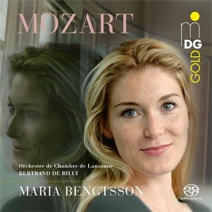 Wolfgang Amadeus Mozart (1756-1791) - Arias (SACD)