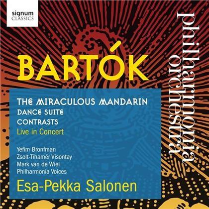 Béla Bartók (1881-1945), Esa-Pekka Salonen (*1958) & Philharmonia Orchestra - The Miraculous Mandarin - Dance Suite - Contrasts