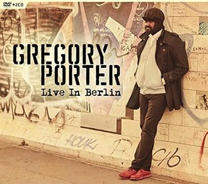 Gregory Porter - Live In Berlin (2 CDs + DVD)
