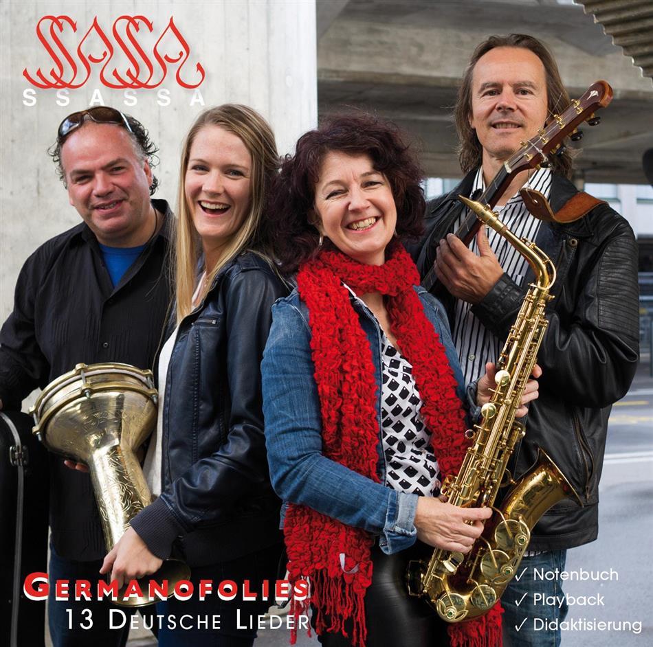 Ssassa - Germanofolies - 13 Deutsche Lieder