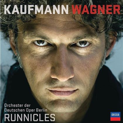 Donald Runnicles, Jonas Kaufmann & Deutsche Oper Berlin - Wagner (LP + Digital Copy)