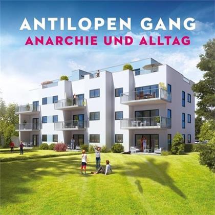 Antilopen Gang - Anarchie und Alltag + Bonusalbum Atombombe auf Deutschland (Digipack, 2 CDs)