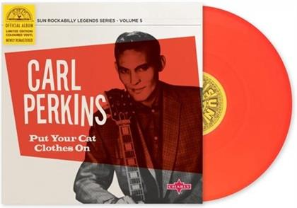 Carl Perkins - Put Your Cat Clothes On - Re-Release (Remastered, LP)