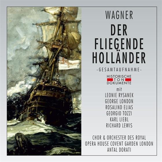 Richard Wagner (1813-1883), Leonie Rysanek, George London, Georgio Tozzi, Rosalind Elias, … - Der Fliegende Hollander - London 1961 (2 CDs)