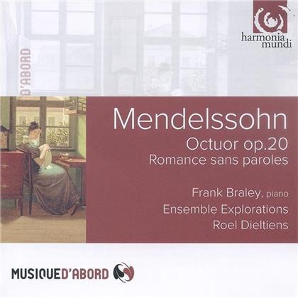 Roel Dieltiens, Felix Mendelssohn-Bartholdy (1809-1847), Frank Braley & Ensemble Explorations - Octuor Op.20 - Romance Sans Paroles