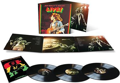 Bob Marley & The Wailers - Live! (Limited Edition, 3 LPs + Digital Copy)