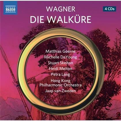 Matthias Goerne, Michelle DeYoung & Richard Wagner (1813-1883) - Die Walküre (4 CDs)