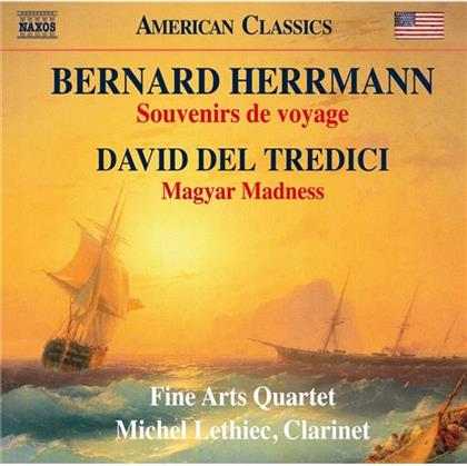 Michel Lethiec, Fine Arts Qr, Bernard Herrmann & David Del Tredici - Souvenirs Voyage/Magyar Madnes
