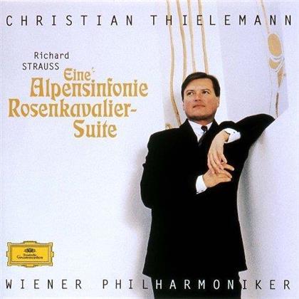 Christian Thielemann, Wiener Philharmoniker & Richard Strauss (1864-1949) - Eine Alpensinfonie & Rosenkavalier (Japan Edition, SACD)