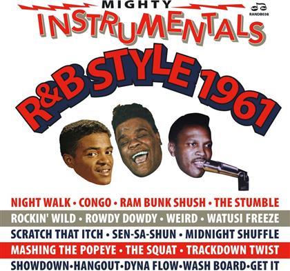 Mighty Instrumentals R&B-Style 1961 (2 CDs)