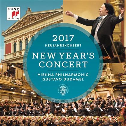 Gustavo Dudamel & Wiener Philharmoniker - Neujahrskonzert2017 - New Year's Concert 2017 / International Version (2 CDs)