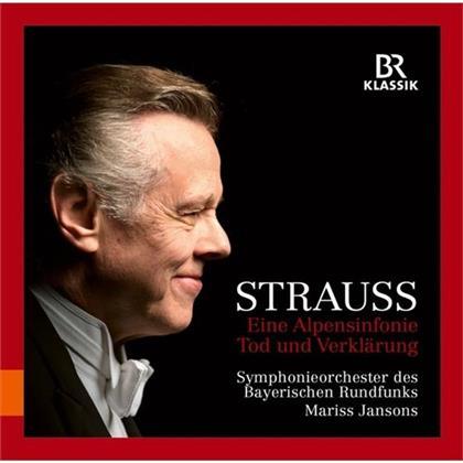Mariss Jansons, Richard Strauss (1864-1949) & Sinfonieorchester Des Bayerischen Rundfunks - Eine Alpensinfonie / Tod+Verklärung