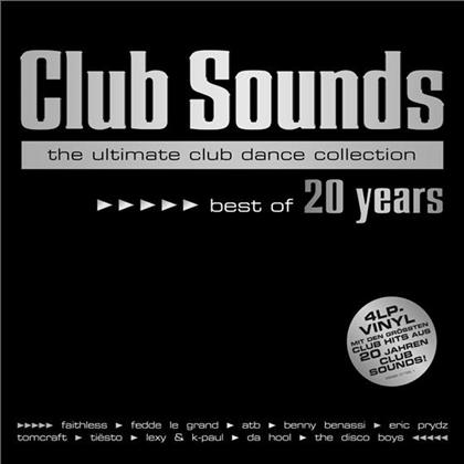 Club Sounds - Best Of 20 Years (4 LPs)