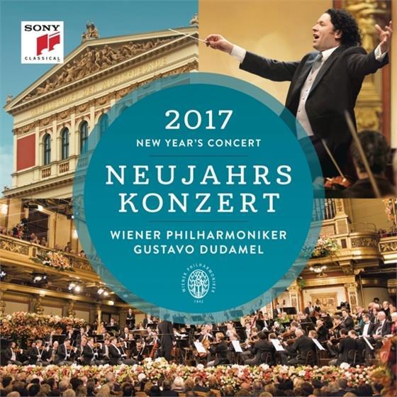 Gustavo Dudamel & Wiener Philharmoniker - Neujahrskonzert 2017 - German Version (2 CDs)