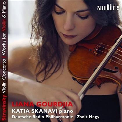 Liana Gourdjia, Katia Skanavi & Igor Strawinsky (1882-1971) - Works For Violin