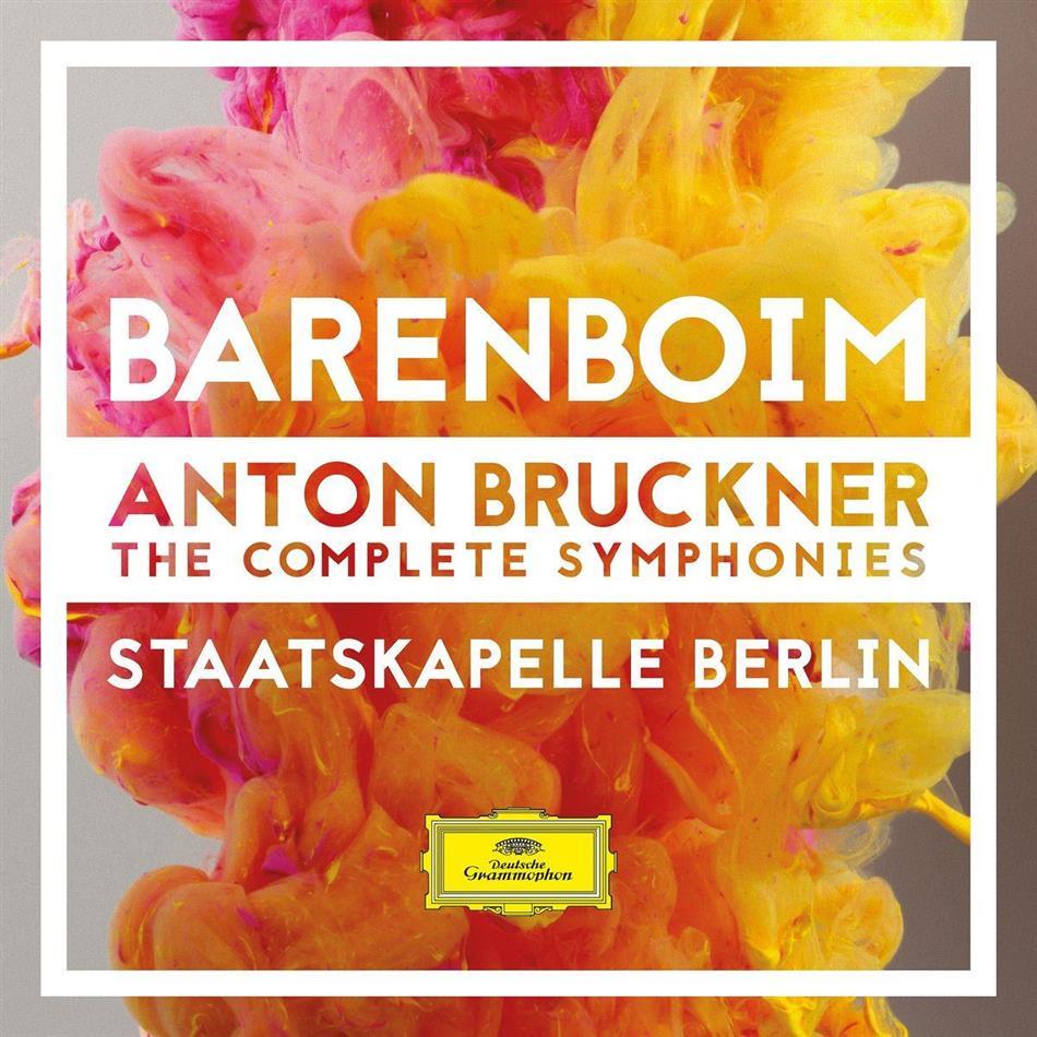 Anton Bruckner (1824-1896) - The Complete Symphonies (9 CDs)