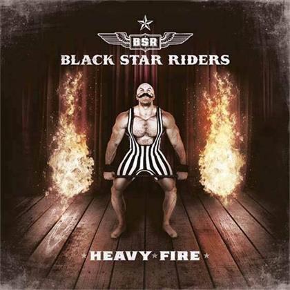 Black Star Riders (Thin Lizzy) - Heavy Fire - Deluxe Edition Digibook + Bonustrack