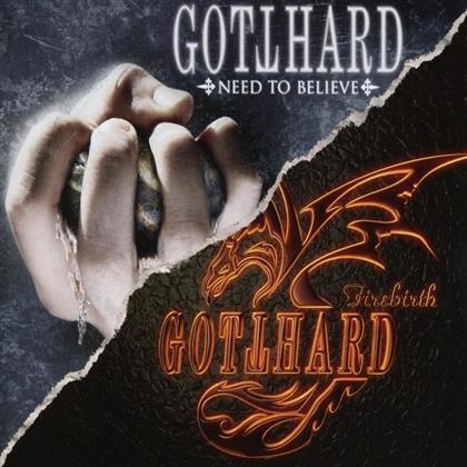 Gotthard - Need To Believe/Firebird (2 CDs)