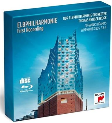 Thomas Hengelbrock, Johannes Brahms (1833-1897) & NDR Elbphilharmonie Orchester - Sinfonien Nr.3 & 4 (Deluxe Edition, CD + Blu-ray)