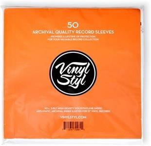 LP Innenhüllen Archiv Qualität (50 Stück)