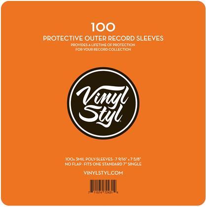LP Aussenhüllen 7'' (100 Stück)