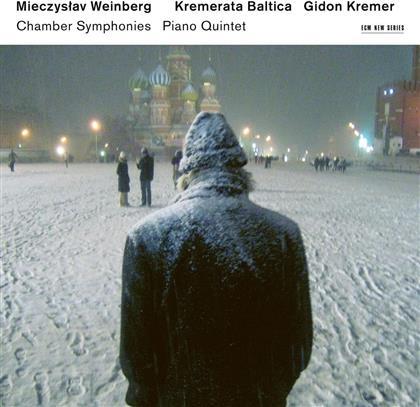 Gidon Kremer, Kremerata Baltica & Mieczyslaw Weinberg (1919-1996) - Chamber Symphonies, Piano Quintet (2 CDs)